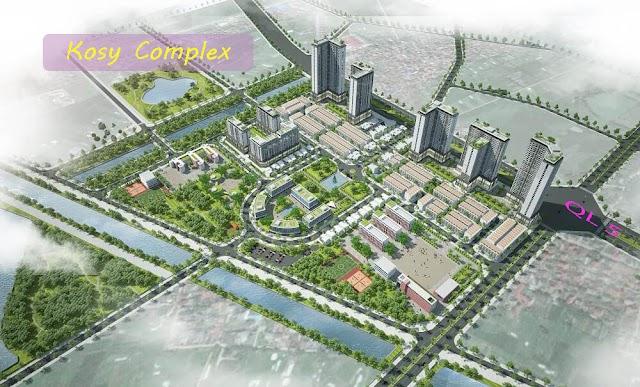 Dự án chung cư Kosy Complex Đông Anh xã Kim Nỗ, huyện Đông Anh, Hà Nội