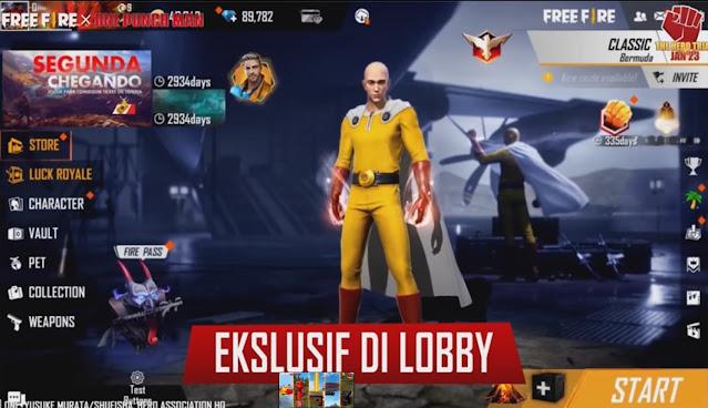 lobby ff saitama