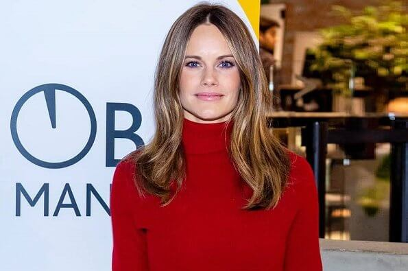 Princess Sofia started to help healthcare staff at Martina Children's Hospital at Sophiahemmet Hospital