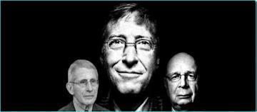 """Como Gates, Fauci e Schwab prepararam a crise Covid-19 para inaugurar uma Nova Ordem Mundial que irá """"reconstruir melhor"""""""