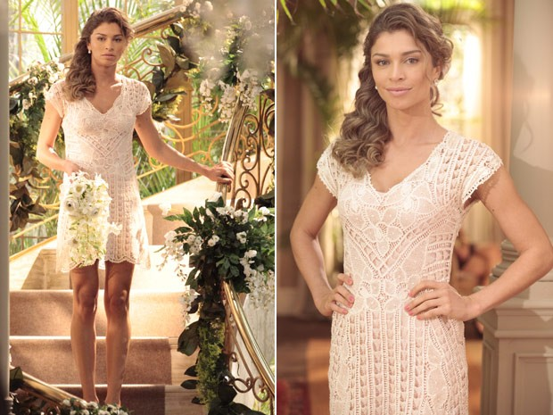 World Fashion Vestido De Noiva Ester Flor Do Caribe