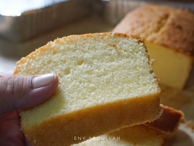 Kek butter sukatan cawan, Resepi Kek Pound, Kek Paun, Butter Pound cake, kek butter sedap