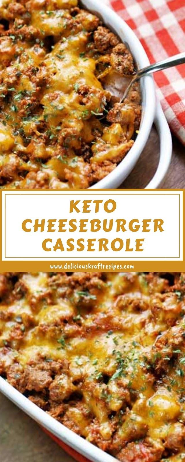 KETO CHEESEBURGER CASSEROLE