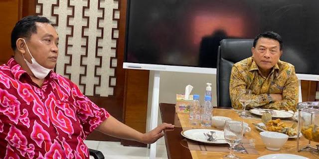 Usai Makan Siang Bareng, Arief Poyuono: Moeldoko Tidak Punya Keinginan Jadi Orang Parpol