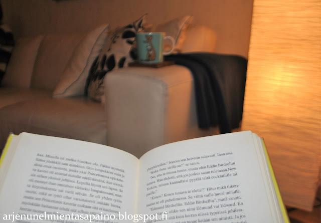 arki, lukeminen, joulufiilis, harrastus, ilta, oma aika, vapaa hetki