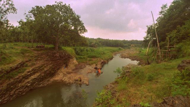 Sungai Kedung Sragen tempat mbah Gotho tenggelam