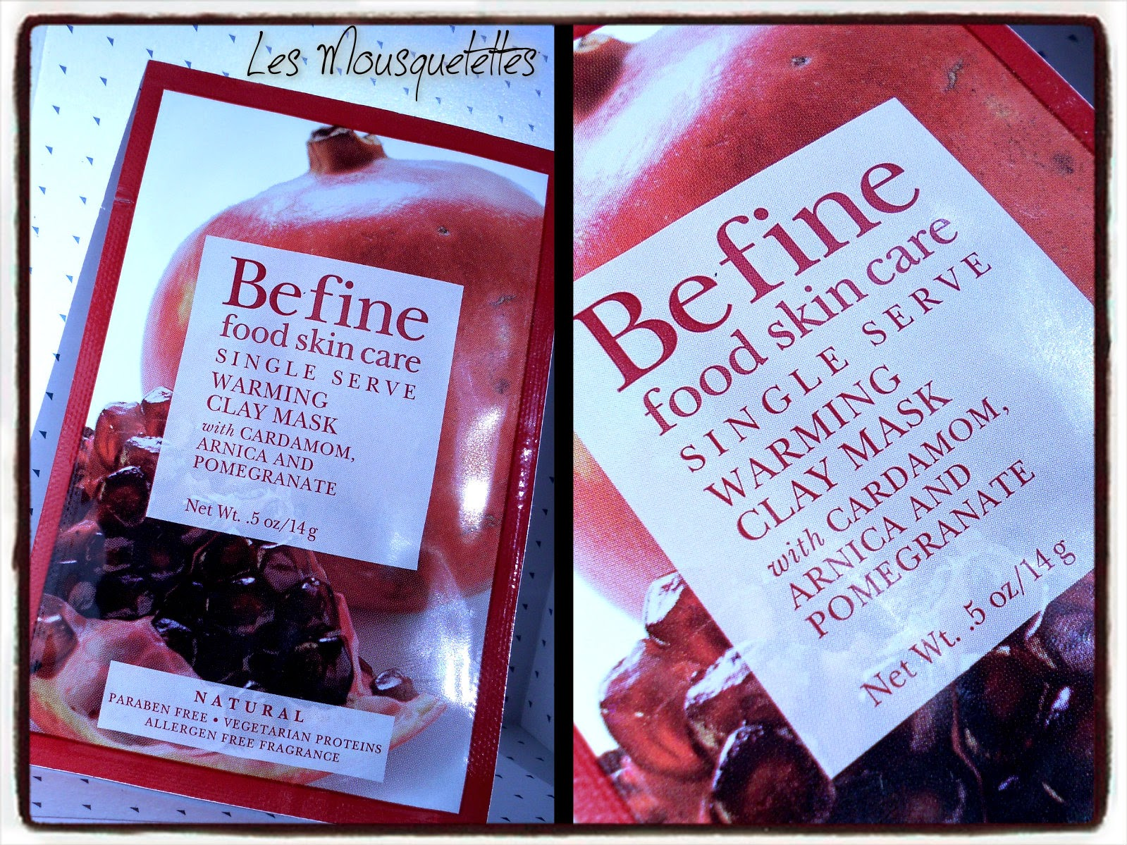 Warming Clay Mask Befine - Les Mousquetettes©