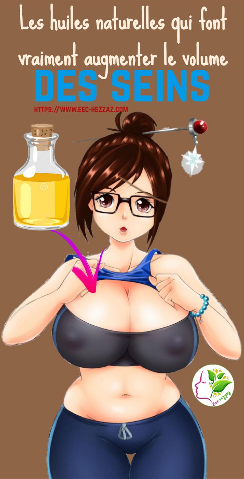 Les huiles naturelles qui font vraiment augmenter le volume des seins