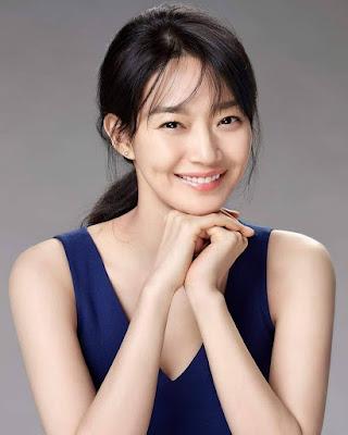 cewek manis dan seksi Shin Min Ah