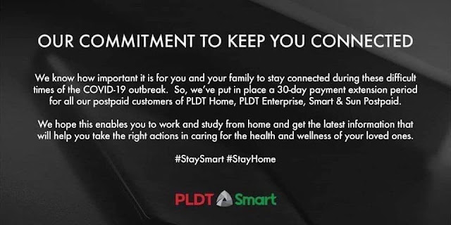 PLDT and SMART Bills Payment Extension