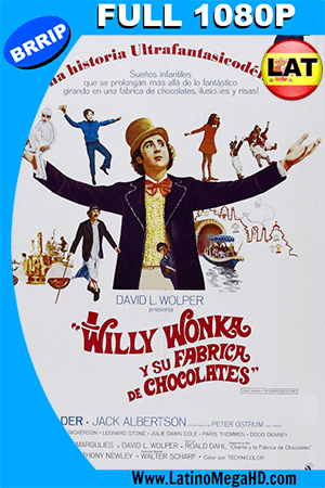 Willy Wonka Y La Fábrica De Chocolate (1971) Latino Full HD 1080P ()