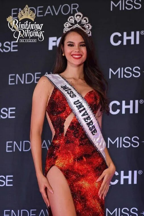 PH's Catriona Gray Named as Miss Universe 2018