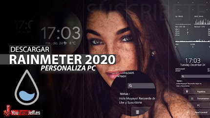 Como Descargar Rainmeter 2020 Ultima Version Español, Personalizar PC