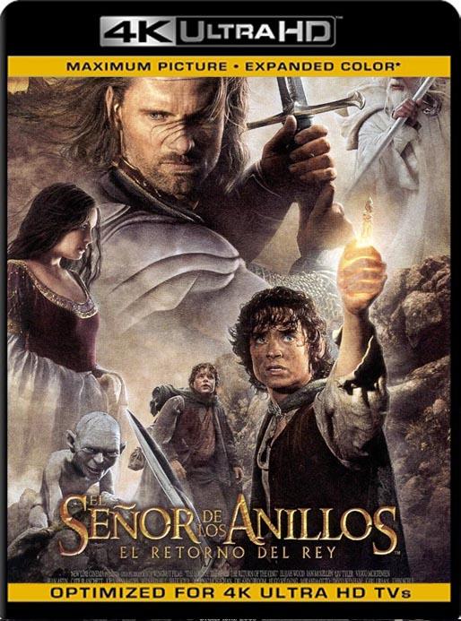 El Señor de los Anillos 1-2-3 (2001-2003) 4K 2160p UHD [HDR] Latino [GoogleDrive]