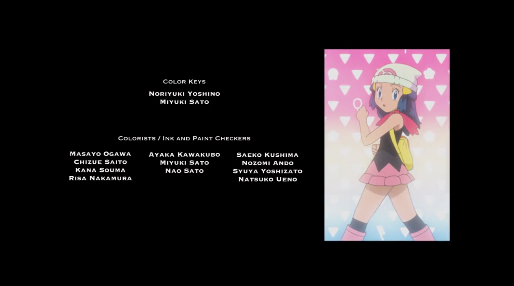 Pokémon the Movie I Choose You credits Dawn