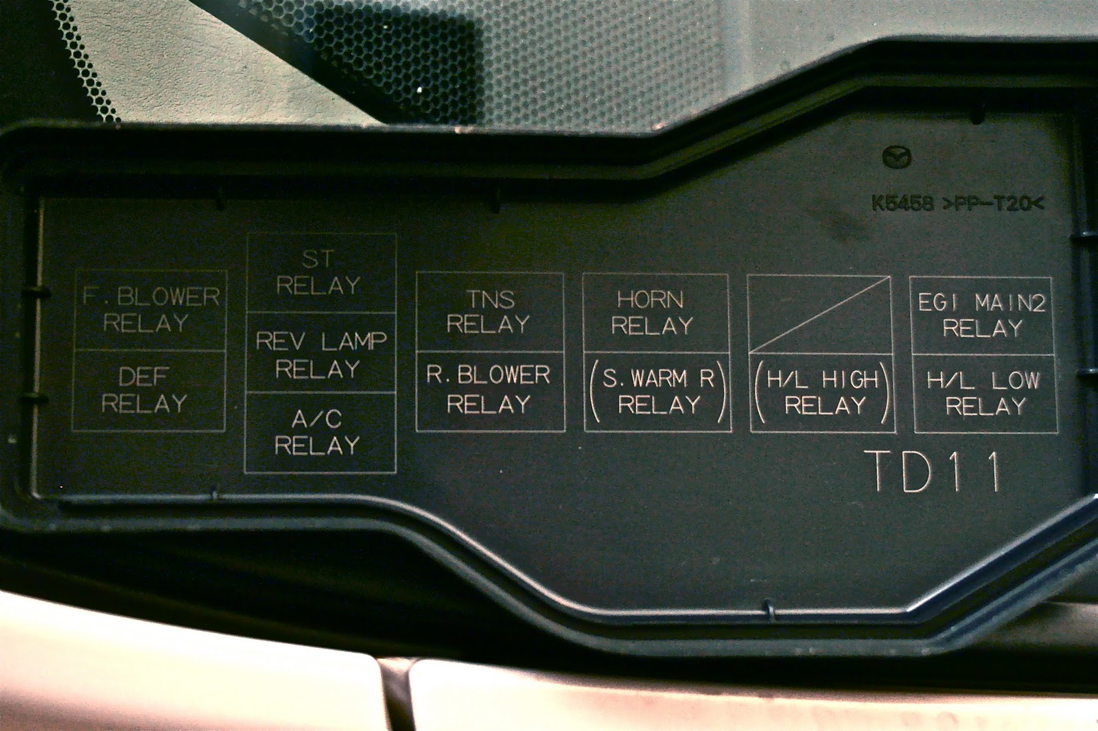 mazda bt 50 fuse box location wiring diagram centre [ 1600 x 1066 Pixel ]