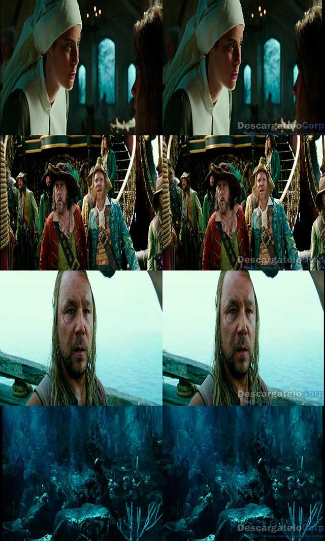 Piratas del Caribe La venganza de Salazar (2017) 3D SBS Latino