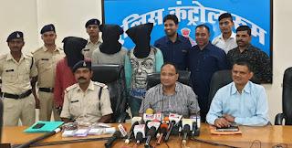 पूजा पाठ के नाम पर धोखाधडी कर 22 तोला वजनी सोने के जेवर लेकर फरार हुआ 1 आरोपी गिरफ्तार