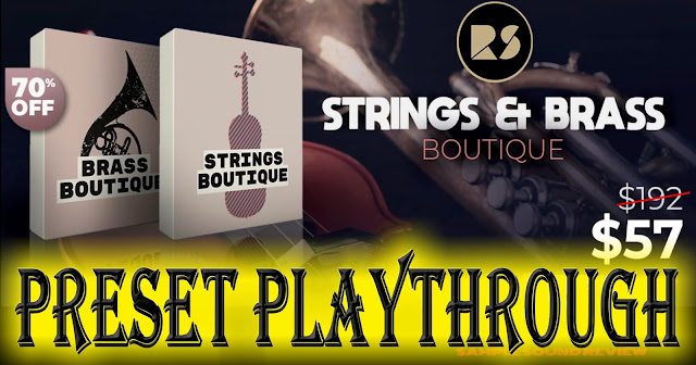 70% OFF Strings & Brass Boutique by Rast Sound