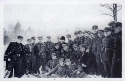 Hubalczycy w Gałkach Krzczonowskich w lutym1940 r.