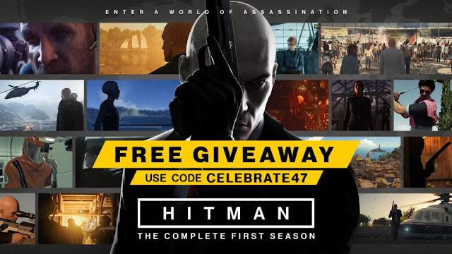 عاجل : لعبة Hitman The Complete First Season متوفرة بالمجان على جهاز PC