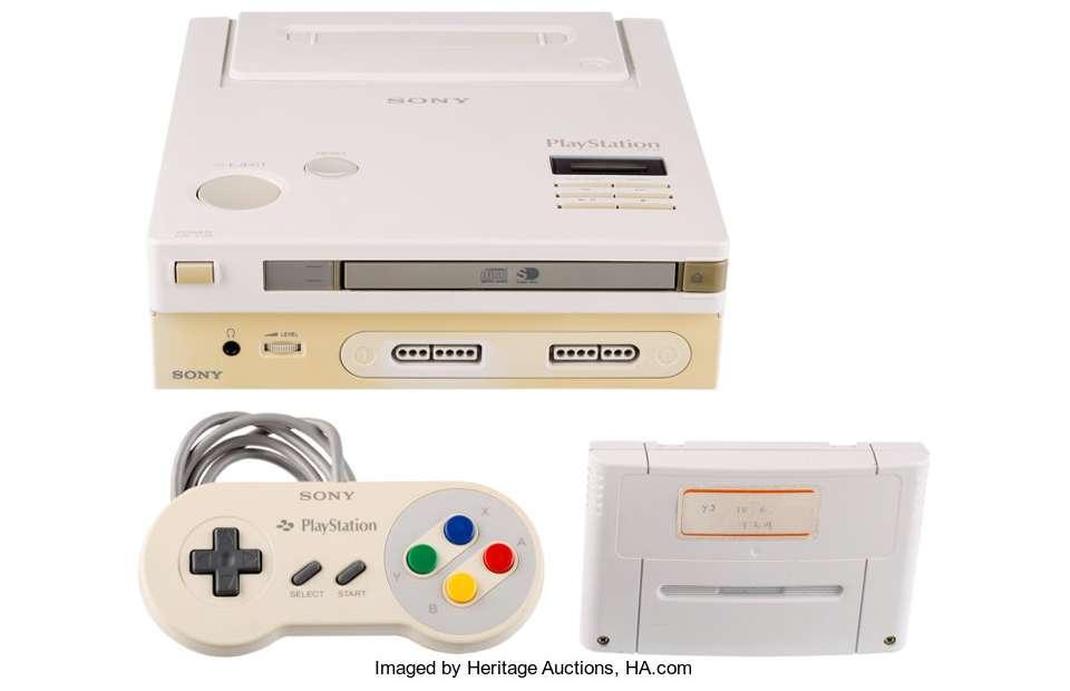 Nintendo Play Station Super Langka Dilelang (ha.com)