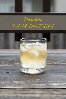 Hornitos LA MAN-ZANA, tequila, lemon juice, beer, Mexican beer, Mexican lager, spiced honey tequila