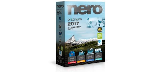 Nero 2017 Platinum Serial Key + Content Full Version