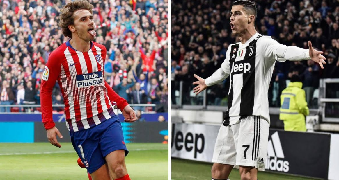 Vedere Atletico Madrid JUVENTUS Rojadiretca Streaming Gratis RAI con CR7 Cristiano Ronaldo.