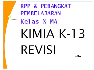 File Pendidikan RPP KIMIA KLS X K-13 Revisi Lengkap Dengan Perangkat