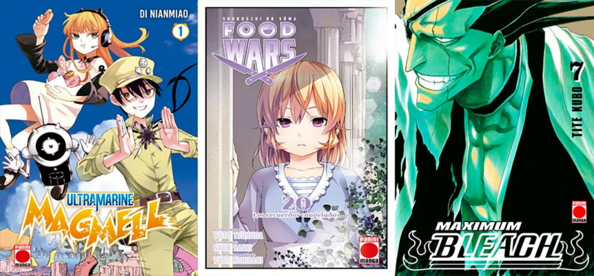Novedades Panini Comics julio 2019 (shonen): Ultramarine Magmell, Food Wars! y Bleach