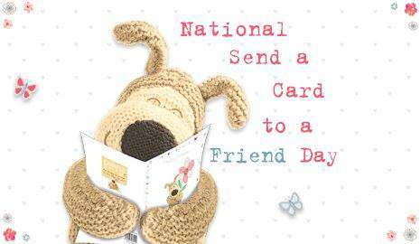 National Send a Card to a Friend Day Wishes Awesome Picture