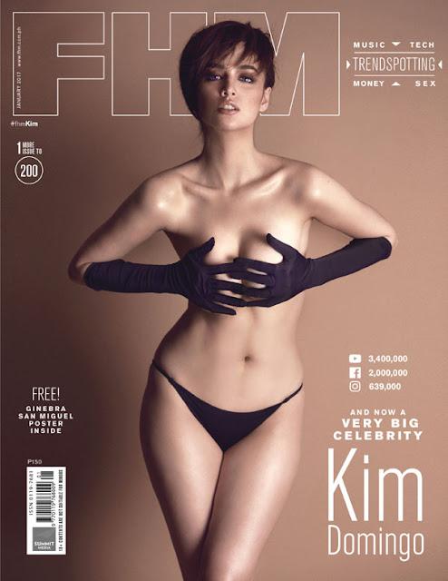 Kim Domingo FHM January 2017