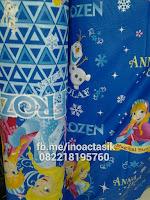 Kasur inoac motif frozen biru inoactasik
