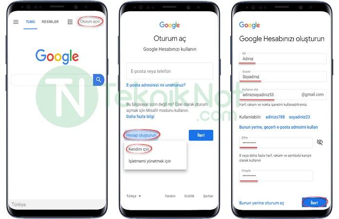 Gmail Hesap Açma, Google Play Hesabı Nasıl Açılır?
