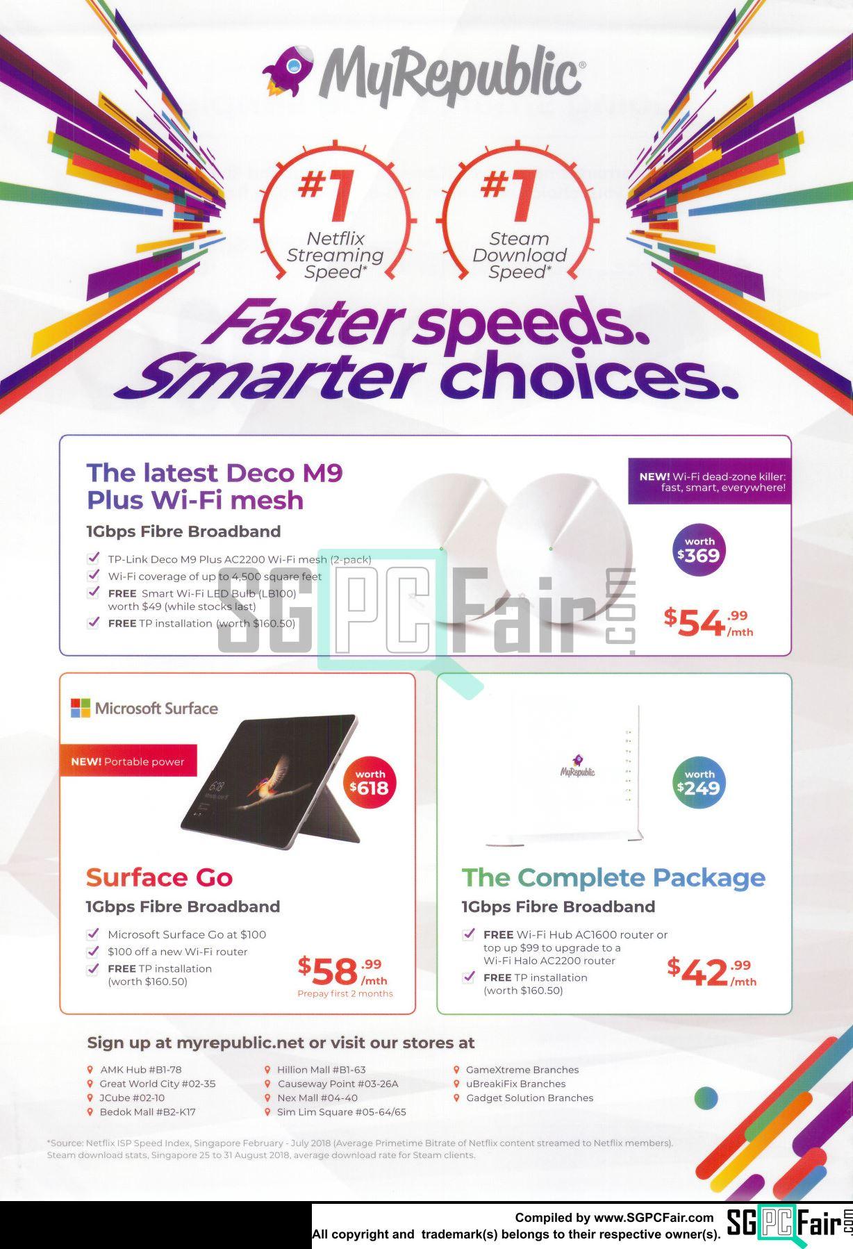 SG PC Fair - Online Brochures, Flyers and Price List: MyRepublic