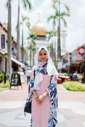 Model baju busana muslim terbaru