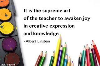 quotes about teacher dan artinya
