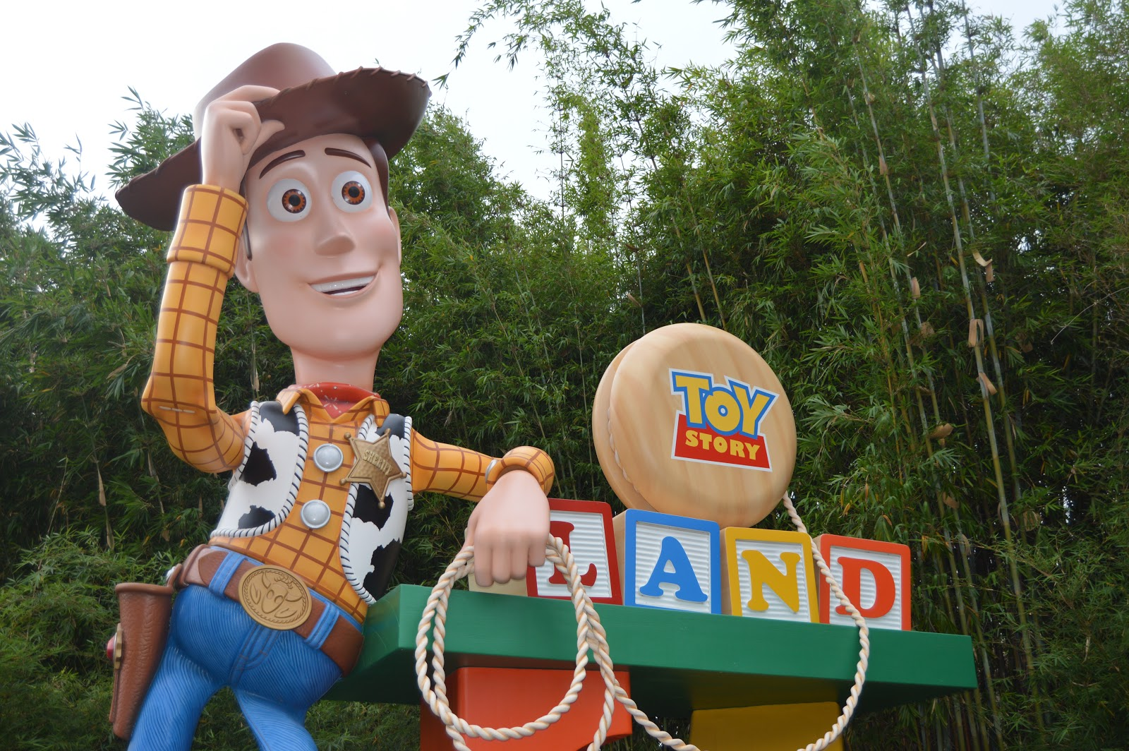 Entrance to Toy Story Land, Walt Disney World