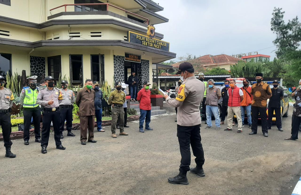 Tekan Aksi Kriminalitas Jelang Pilkada, Polsek Pacet Gelar Patroli Rayon