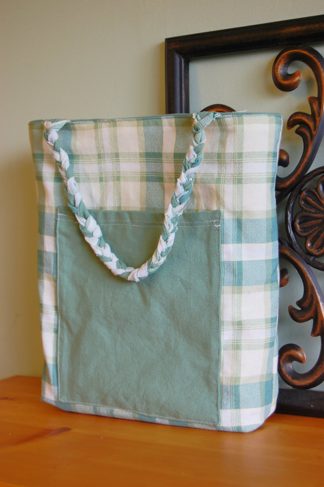 Reversible Canvas Tote Bag Tutorial