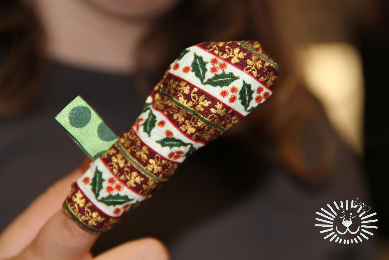 KINDERleicht und schön | Nähen mit Cherrygrön: Weihnachtsbaum Anhänger