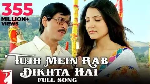 Tujh Mein Rab Dikhta Hai Lyrics - Roop Kumar Rathod