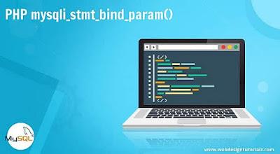 PHP mysqli_stmt_bind_param() Function