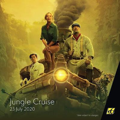 Filem Keluar Panggung Wayang 2020 | Jungle Cruise (2020)