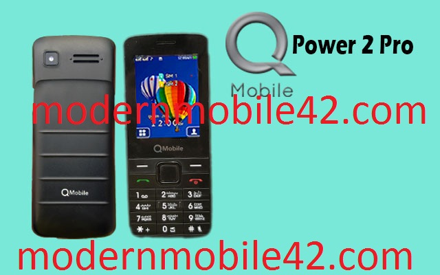 qmobile power2 pro flash file