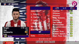 Download eFootball PES 2022 PPSSPP Antoine Griezmann Edition Original Camera PS5 Best Graphics & New Transfer