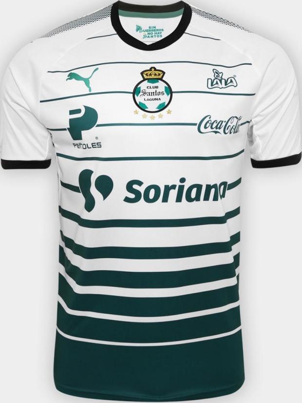 bab42c41796a5 Puma lança as novas camisas do Santos Laguna - Show de Camisas