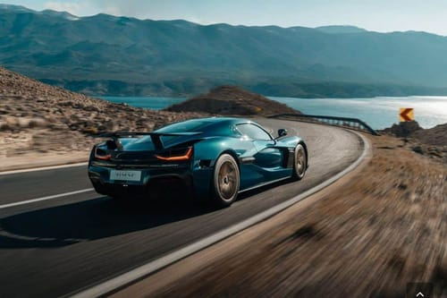 Nevera: a super electric sports car with 1,900 horsepower