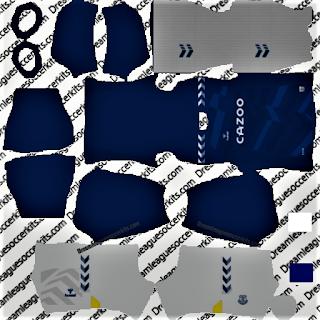 everton dls kit 2021